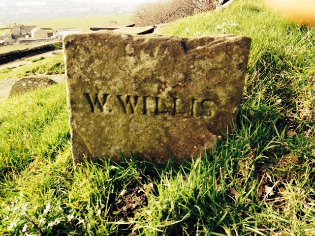 William Willis Gravestone, Mellor Church